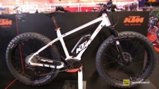 2016 KTM Macina Freeze 28 Electric Fat Bike at 2015 EUROBIKE Friedrichshafen