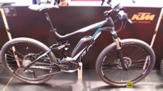 2017 KTM Macina Lycan 275 Electric Mountain Bike at 2016 EUROBIKE Friedrichshafen