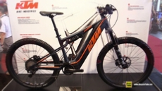 2017 KTM Ventura Vamos Electric Mountain Bike at 2016 EUROBIKE Friedrichshafen